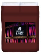 Grand Ole Opry House In Nashville, Tennessee. Duvet Cover