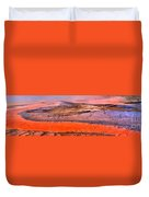 Grand Prismatic Panoramic Abstract Duvet Cover