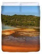Grand Prismatic Spring  Duvet Cover