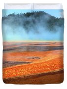 Grand Prismatic Spring, Yellowstone Duvet Cover