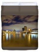 Grand Rapids At Night Duvet Cover