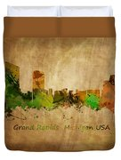Grand Rapids  Michigan Duvet Cover