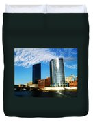 Grand Rapids Michigan Is Grand Duvet Cover