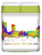Grand Rapids  Michigan Usa Duvet Cover