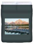 Grand Teton Dawn IIi Duvet Cover