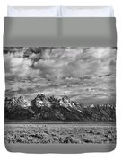 Grand Teton Majesty Duvet Cover by Sandra Bronstein