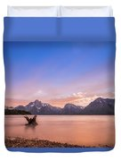 Grand Teton National Park Duvet Cover