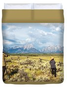 Grand Teton Photograpers Duvet Cover