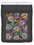 Grand Unified Theory Of Supersymmetrics Duvet Cover