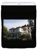 Grand Victorian Mansion  Duvet Cover