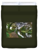Grand Western Canal At Crown Hill Duvet Cover