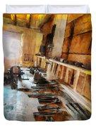 Grandfather's Tools Duvet Cover