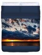 Grandiose Sky On Grand Lake Duvet Cover