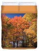 Grandma Red's Woods Duvet Cover