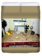 Grandma's Baking Table Duvet Cover