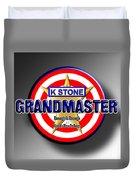 Grandmaster Duvet Cover