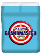Grandmaster Version 2 Duvet Cover