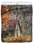 Grandpa's Old Barn Duvet Cover