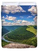 Grandview West Virginia Duvet Cover