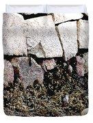 Granite And Seaweed Duvet Cover