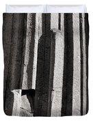 Granite Columns Duvet Cover