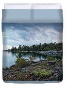 Granite Islands Duvet Cover
