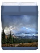 Granite Park Chalet - Glacier National Park Duvet Cover