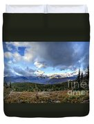 Granite Park - Glacier National Park Duvet Cover