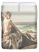 Granville Harbour Tasmania Fine Art Beauty Portrait Duvet Cover