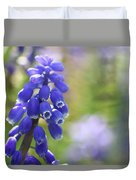 Grape Hyacinth II Duvet Cover
