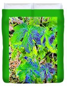 Grape Leaves Duvet Cover