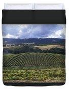 Grape Vines On Opolo Vineyards Duvet Cover