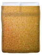Grapefruit Skin Duvet Cover
