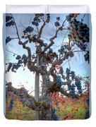 Grapes Aloft Duvet Cover