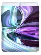 Grapes And Cream Abstract Duvet Cover