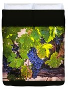 Grapevine With Texture Duvet Cover