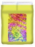 Graphic Rainbow Colorful Garden Duvet Cover