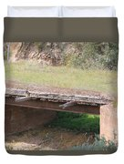 Grass Bridge Duvet Cover
