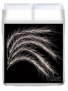 Grass Curve Coppertone Duvet Cover