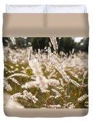Grass Field Duvet Cover