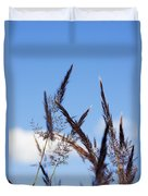 Grass Florets Duvet Cover
