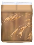 Grass In The Wind Duvet Cover