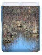 Grass Reflections Duvet Cover