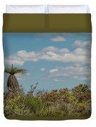 Grass Tree Landscape Duvet Cover