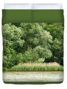 Grasses And Trees Duvet Cover