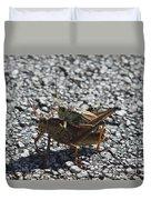 Grasshoper Love Duvet Cover