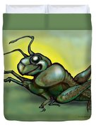 Grasshopper Duvet Cover