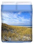 Grassy Dunes Duvet Cover