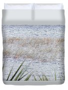 Grassy Waters Duvet Cover