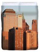 Gratte Ciel Manhattan Usa Duvet Cover